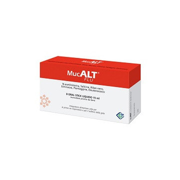 MUCALT FLU 8 ORAL STICK MONOD