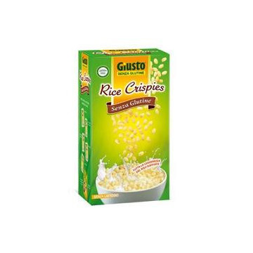 GIUSTO S GLUT.RICE CRISPIES 25