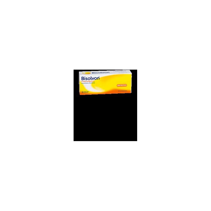 BISOLVON*20CPR 8MG