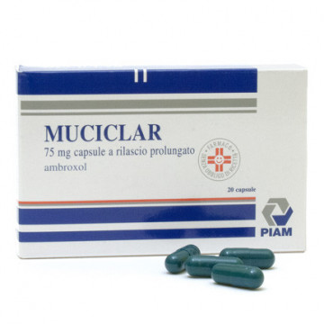 MUCICLAR*20CPS 75MG RP