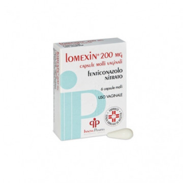 LOMEXIN*6CPS MOLLI VAG 200MG