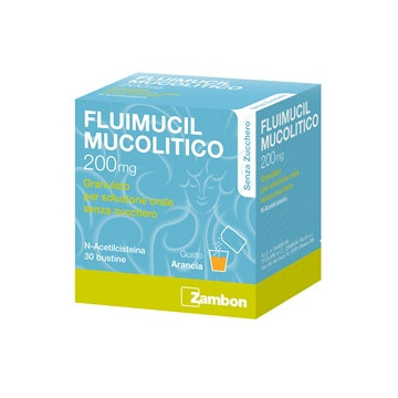 FLUIMUCIL MUCOL*30BUST200MGS Z