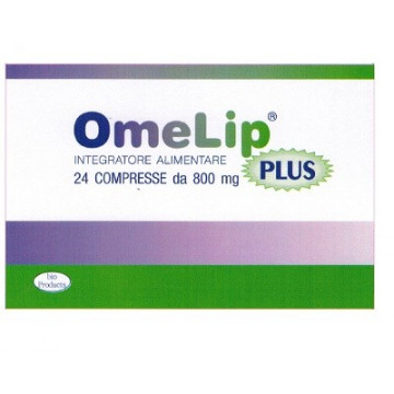 OMELIP PLUS 24CPR 800MG